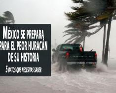 Huracán Patricia: el huracán más fuerte jamás registrado en el hemisferio occidental