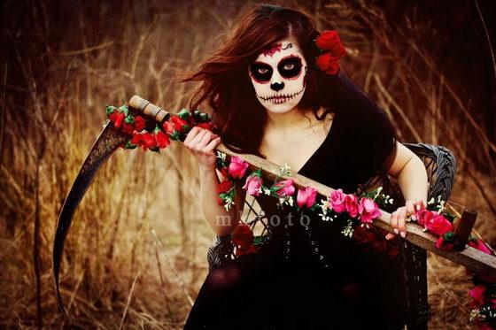 maquillaje catrina calavera dia de los muertos