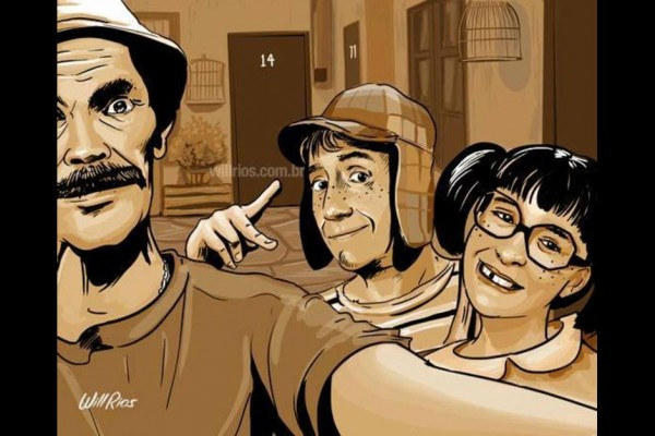 selfie don ramon la chilindrina chavo 8