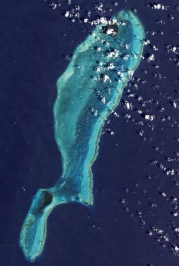 vista aerea blue hole el gran agujero azul de belice