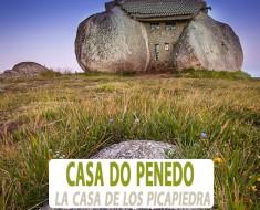 La casa de piedra de Casa do Penedo, Fafe, Portugal
