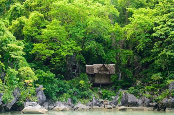 casas solitarias naturaleza filipinas