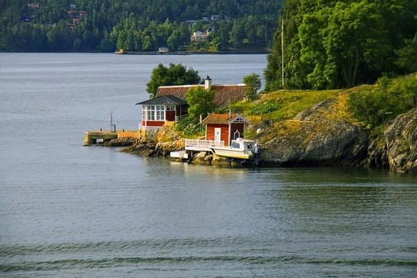 casas solitarias naturaleza suecia