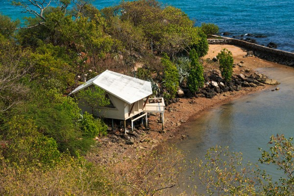 casas solitarias naturaleza tailandia