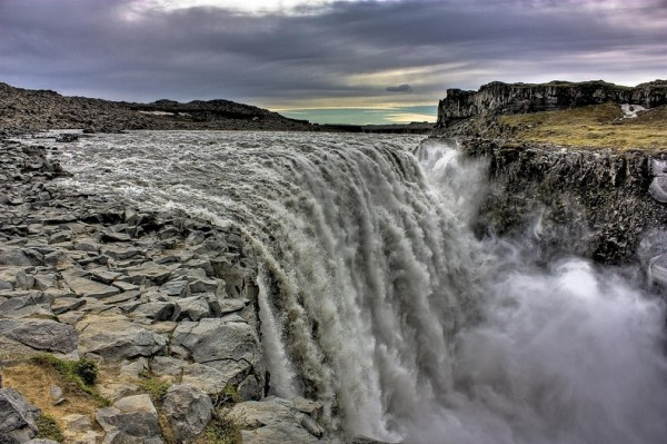 cascada dettifoss parque nacional de vatnajokull islandia