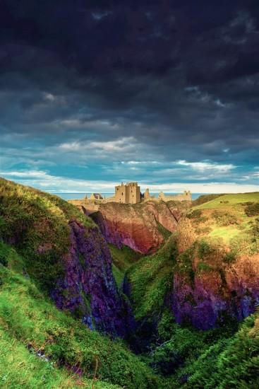 castillo de dunnottar escocia