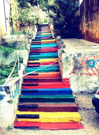 escalera beirut libano
