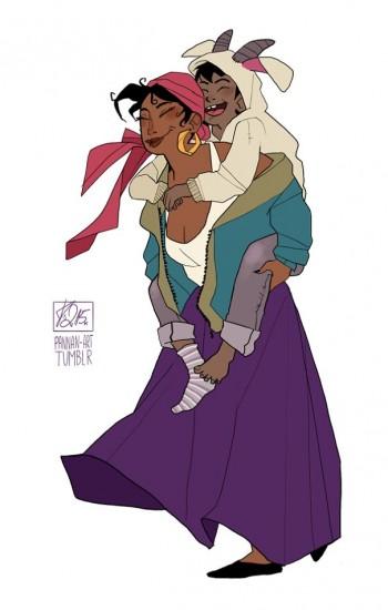 esmeralda y djali