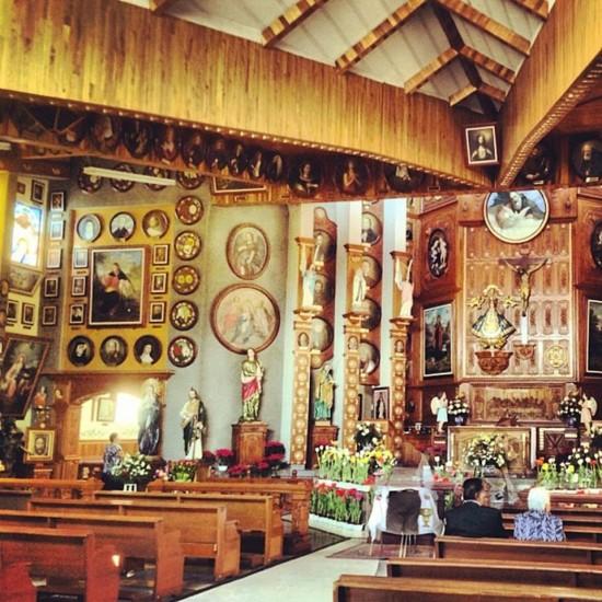 La Iglesia de los Cien Santos en Iztapalapa