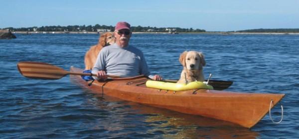 kayak para perros