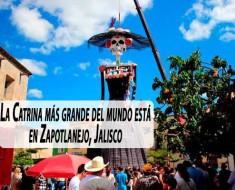 La Catrina más grande del mundo está en Zapotlanejo, Jalisco