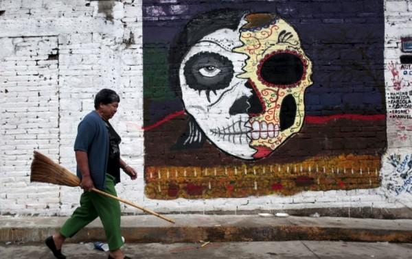 mejores fotos celebracion dia de muertos mexico