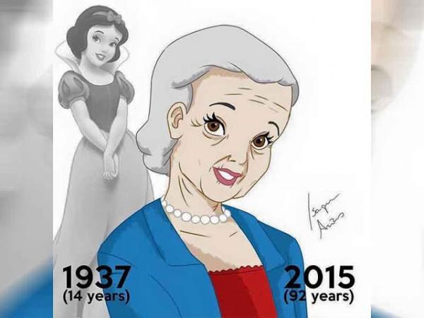 princesas disney abuelas blancanieves