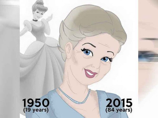 princesas disney abuelas cenicienta