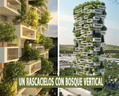 Rascacielos de 117 metros de alto con bosque vertical
