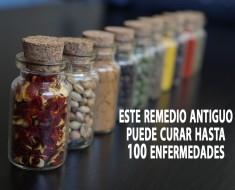 Este remedio antiguo puede curar hasta 100 enfermedades
