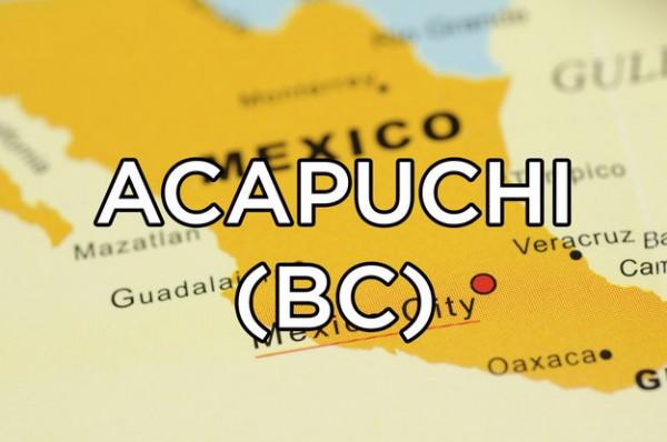 significado acapuchi mexico