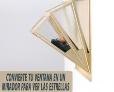 No apto para gente con vértigo, convierte tu ventana en terraza