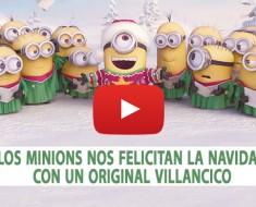 Los Minions nos felicitan la Navidad con un original villancic