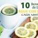 10 beneficios de beber agua tibia con limón cada mañana en ayunas