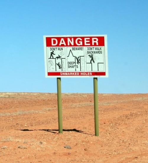 agujeros coober pedy australia