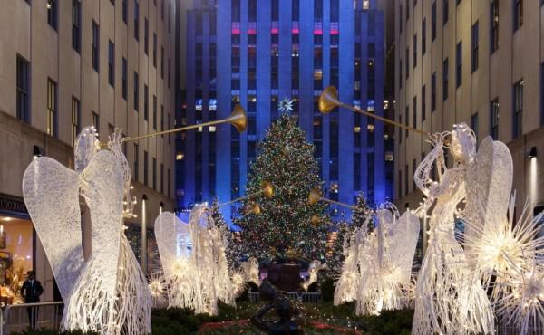 arboles de navidad nueva york