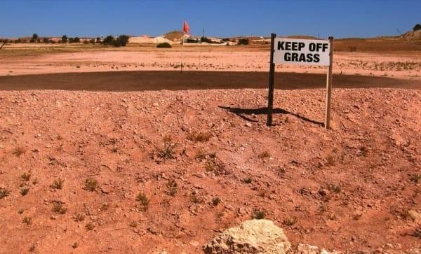 campo de golf coober pedy australia