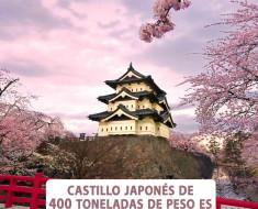 Castillo japonés de 200 años y 400 toneladas de peso es trasladado 70 metros
