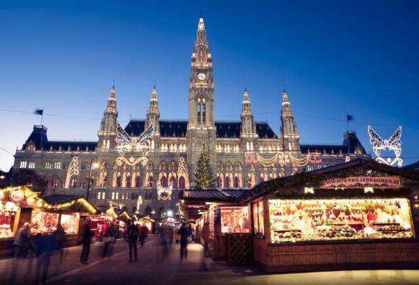 fotos de ciudades en navidad