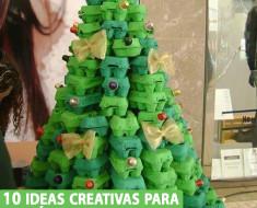 10 ideas creativas para tu árbol de navidad