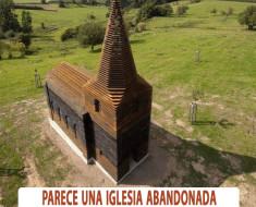 Parece una iglesia abandonada - Pero si miras atento tiene un increíble secreto