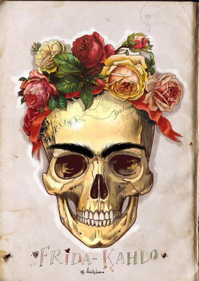ilustraciones frida kahlo tributo artistas jovenes
