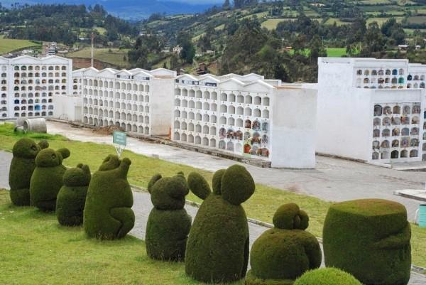 imagenes cementerio tulcan ecuador