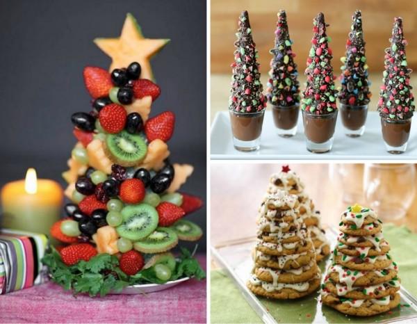 15 maneras originales de decorar platos de navidad coyotitos for Postres para navidad originales