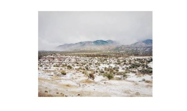 Fotos de la historica nevada en el norte de México