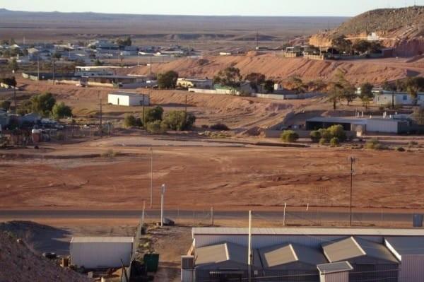 panoramica coober pedy australia