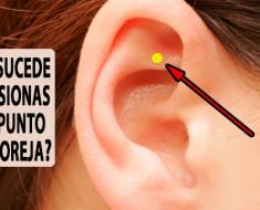 Esto es lo que pasa si presionas este punto de tu oreja