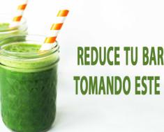 Reduce tu barriga tomando este jugo de piña, pepino, apio, jengibre y limón