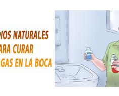Remedios naturales para curar las llagas en la boca