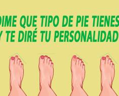 tipo de pies define personalidad