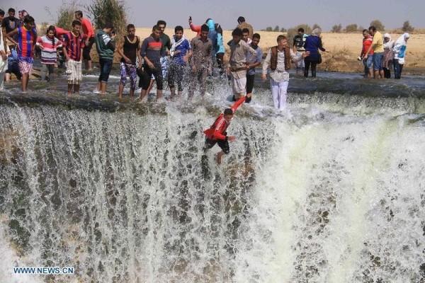 wadi el rayan cascada egipto