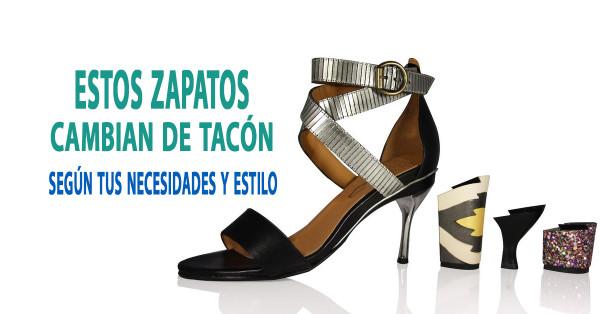 Zapatos que cambian de altura y estilo según tus necesidades