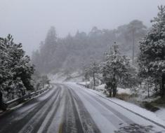 Así luce el Ajusco, Cuajimalpa y La Marquesa por la nevada