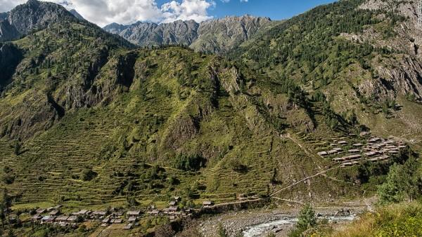 Bara Bangal pueblo mas remoto himalaya