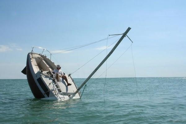 barco hundido no es lo que parece