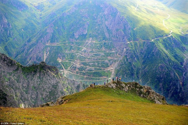 carretera mas peligrosa del mundo bayburt D915 turquia
