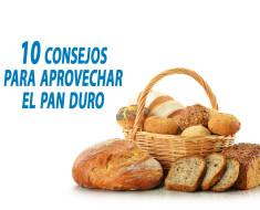 consejos para aprovechar el pan duro