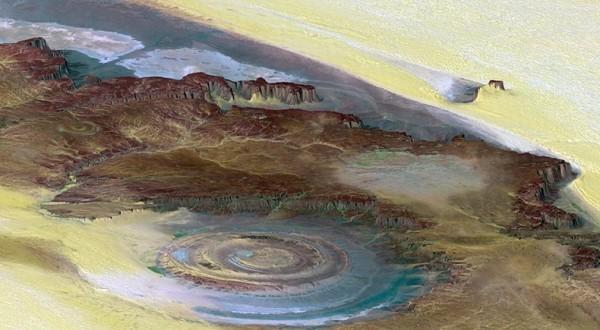 el ojo del sahara estructura richat