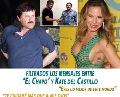 Filtrados los mensajes entre 'El Chapo' y Kate del Castillo