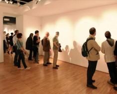 Galería de arte expone arte invisible en Nueva York